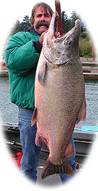 Gary At Work! 59 pound Chetco King